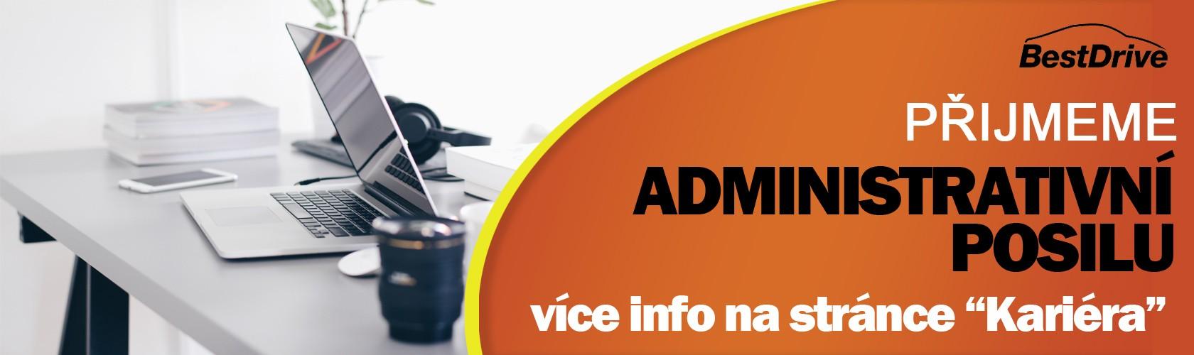 Přijmeme administrativní posilu